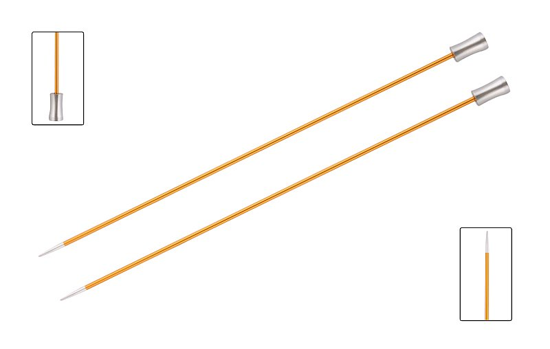 Knit Pro Zing Single Point 2.25mm x 25cm
