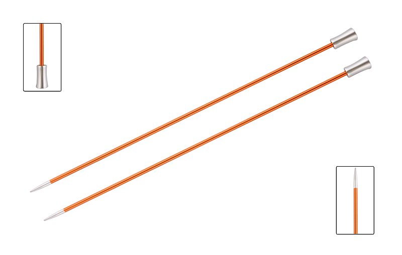 Knit Pro Zing Single Point 2.75mm x 25cm