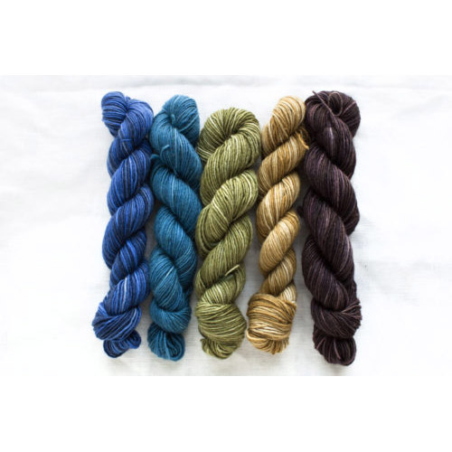 Manos Fino Mini Skeins - 7 Georgina