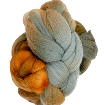Manos Merino Roving Top - Olivewood 6863