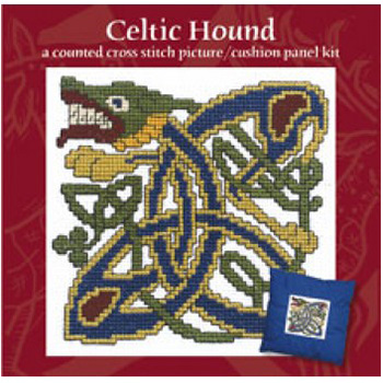 Textile Heritage Panel - Celtic Hound picture