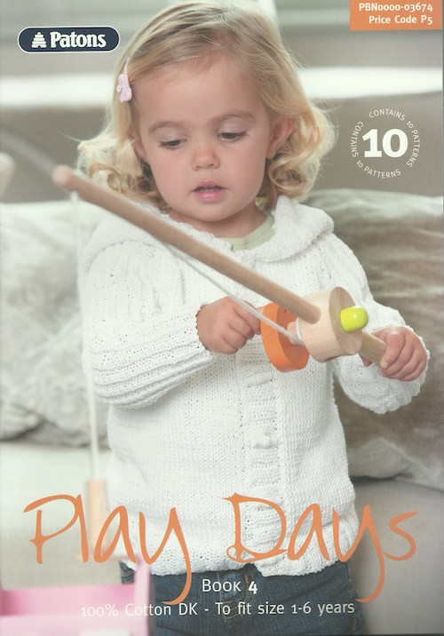 Patons Play Days 4 Booklet