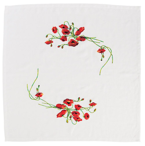 DMC Poppy Tablecloth (RK062)