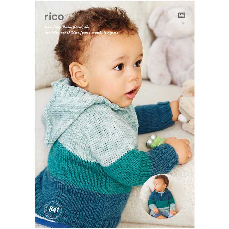 Rico Baby Classic DK Pattern 841 Sweaters