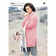 Rico Essential Alpaca Blend Chunky Pattern 645 Sweater/Cardigan
