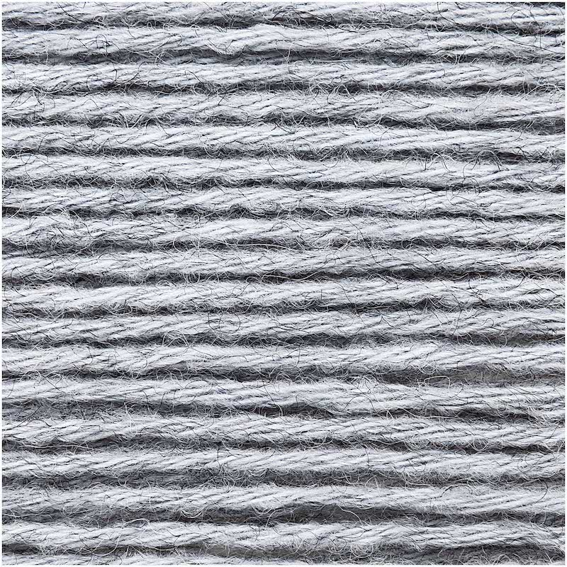 Rico Essential Alpaca Blend Chunky 025 Blue - Grey