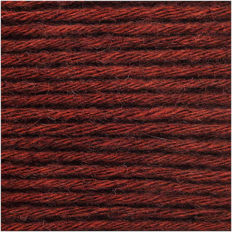 Rico Essential Alpaca Blend Chunky 024 Red - Brown