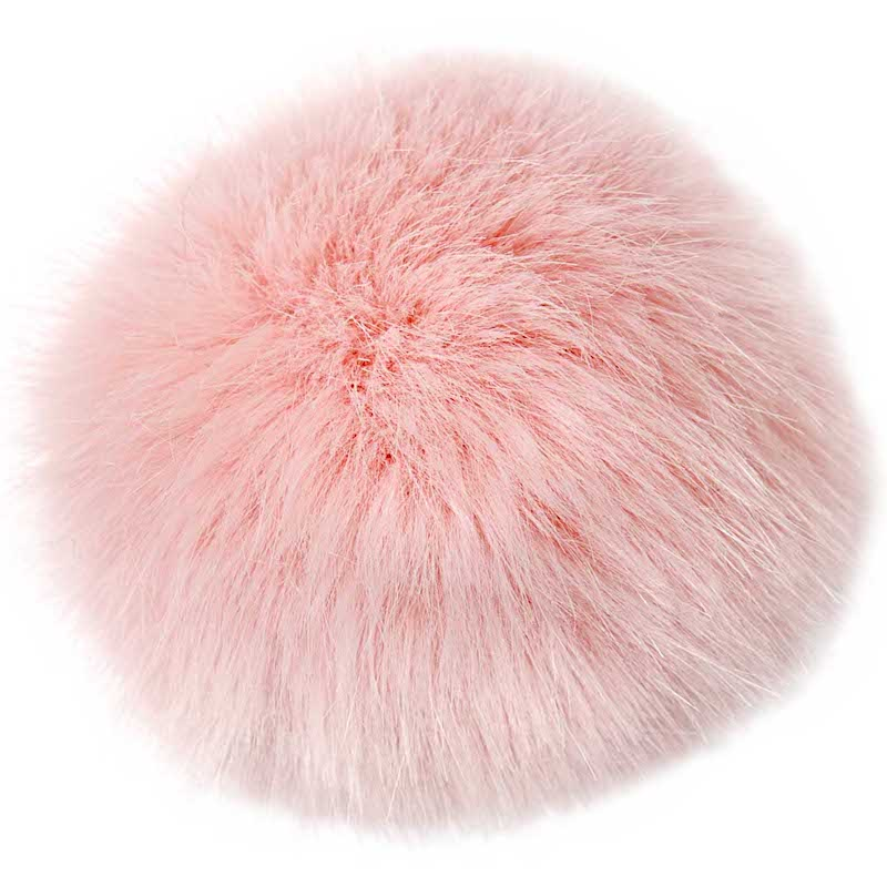 Rico Designs Fake Fur Pompon Pink