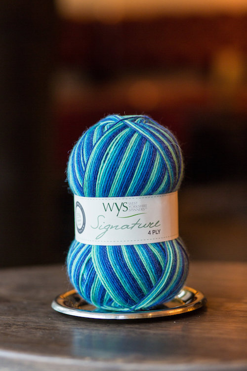 WYS Signature 4ply - Cocktail Range, Blue Lagoon