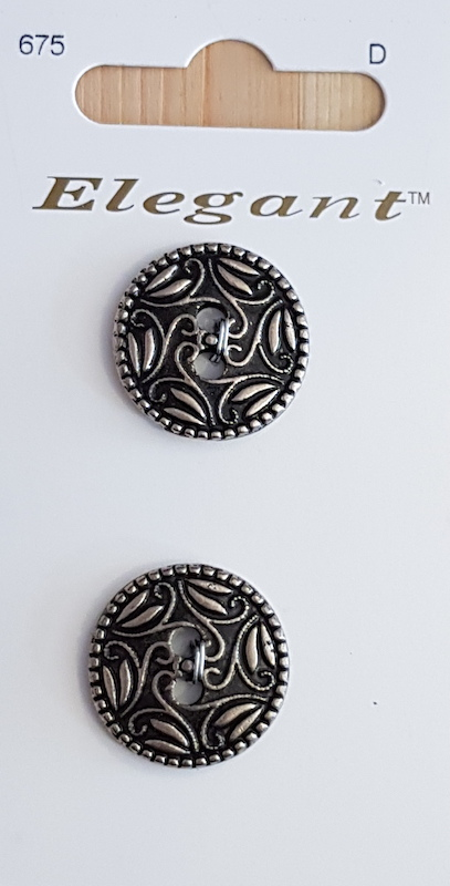 Sirdar Elegant Buttons B5600-0675 Antique 19mm
