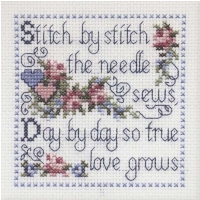 DMC Mini Kit Stitch by Stitch