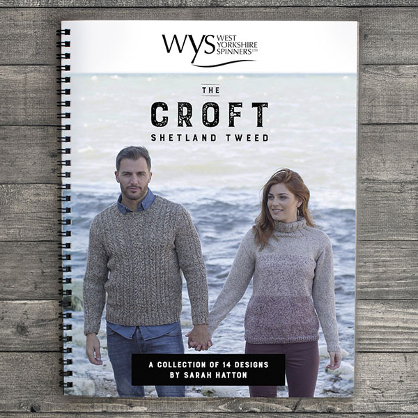 WYS The Croft Pattern Book by Sarah Hatton
