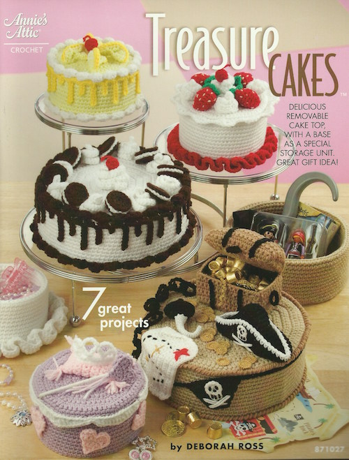 Treasure Cakes crochet book