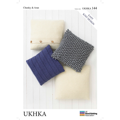 UKHKA No. 144 Cushions (Chunky and Aran)