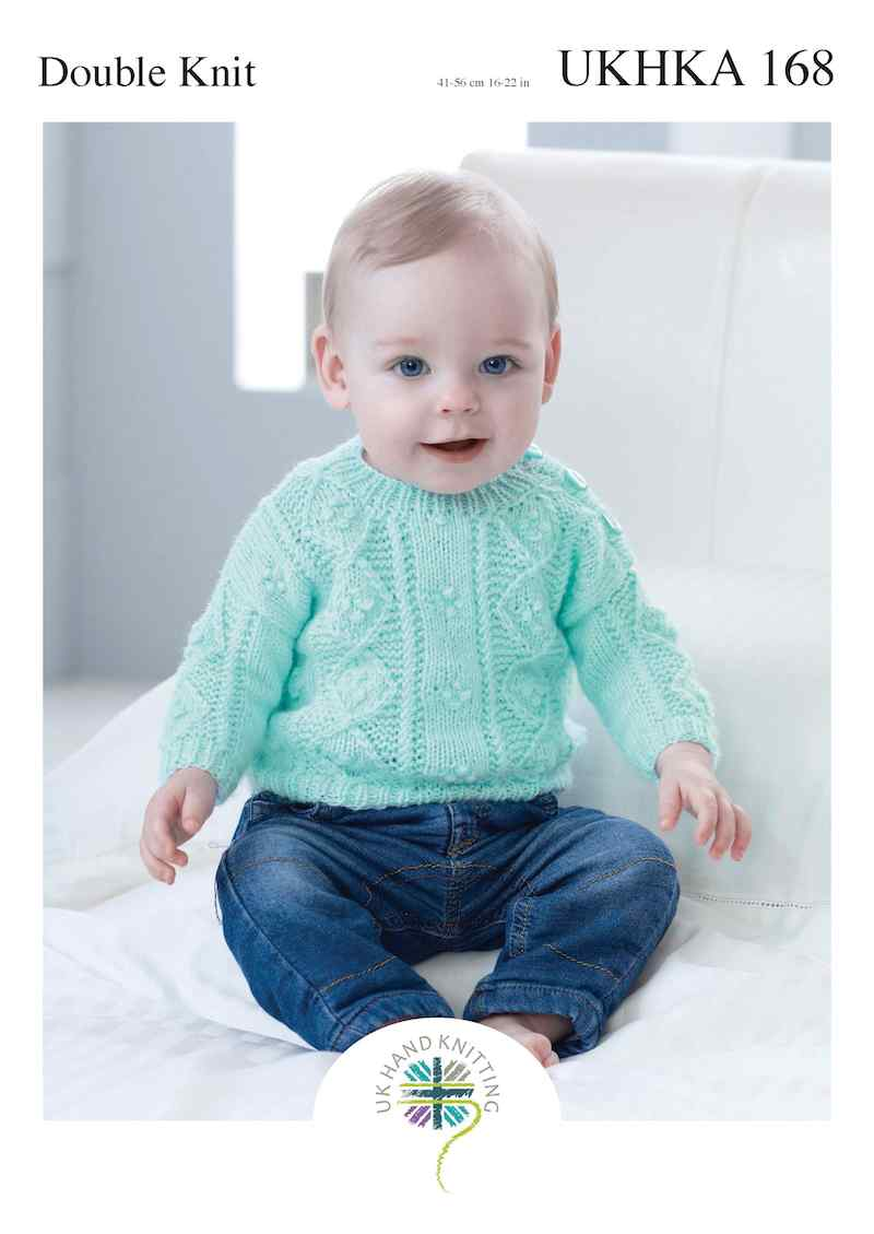 UKHKA No. 168 Sweater and Cardigan (DK)
