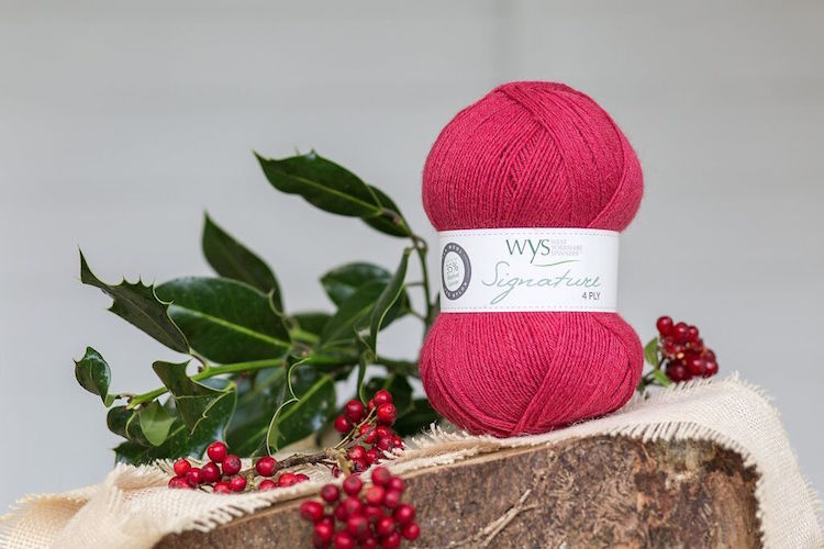 WYS Signature 4ply Sweet Shop Range - Cherry Drop