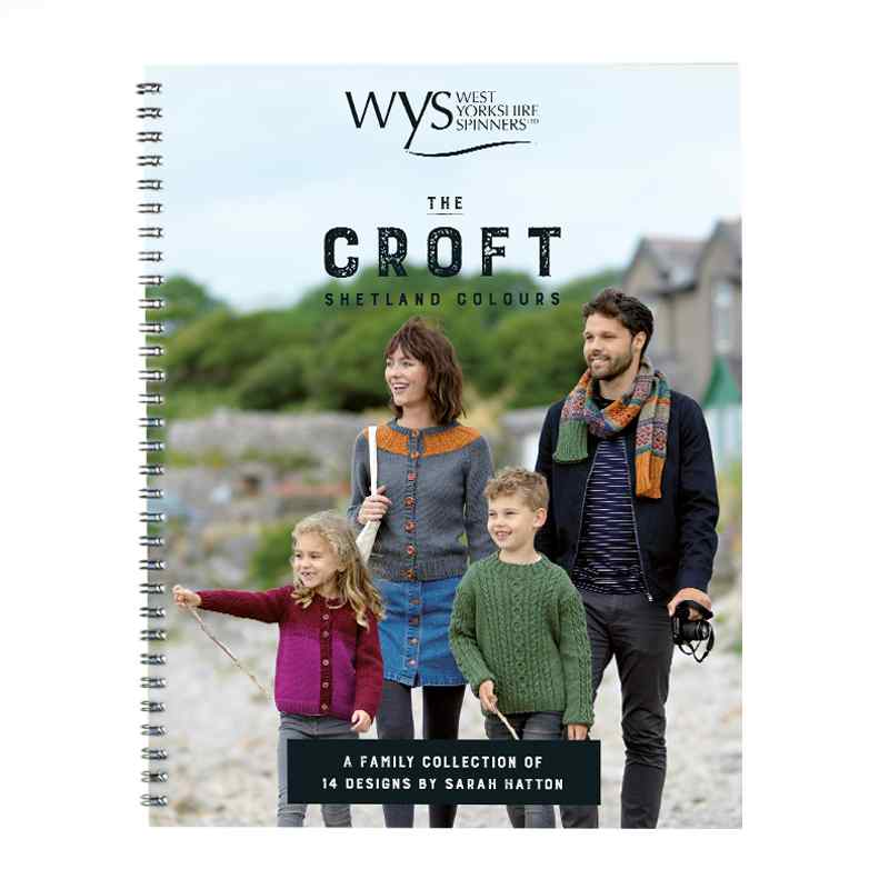 WYS The Croft Colours Pattern Book