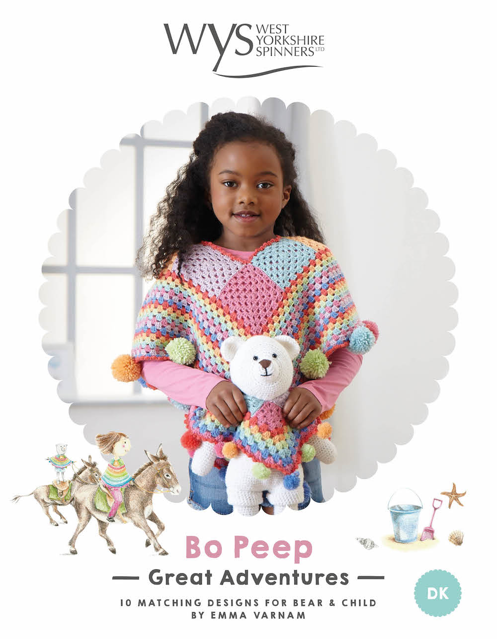WYS Bo Peep Great Adventures Crochet Book by Emma Varnam