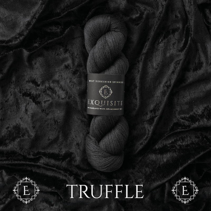 WYS Exquisite Lace Yarn, Truffle 049