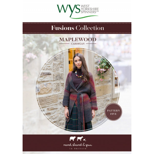 WYS Fusions Collection Maplewood Cardigan Pattern