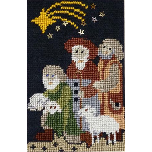 Stitch 56: Christmas Carols, While Shepherds Watched
