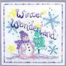 Cinnamon Cat - Winter Wonderland