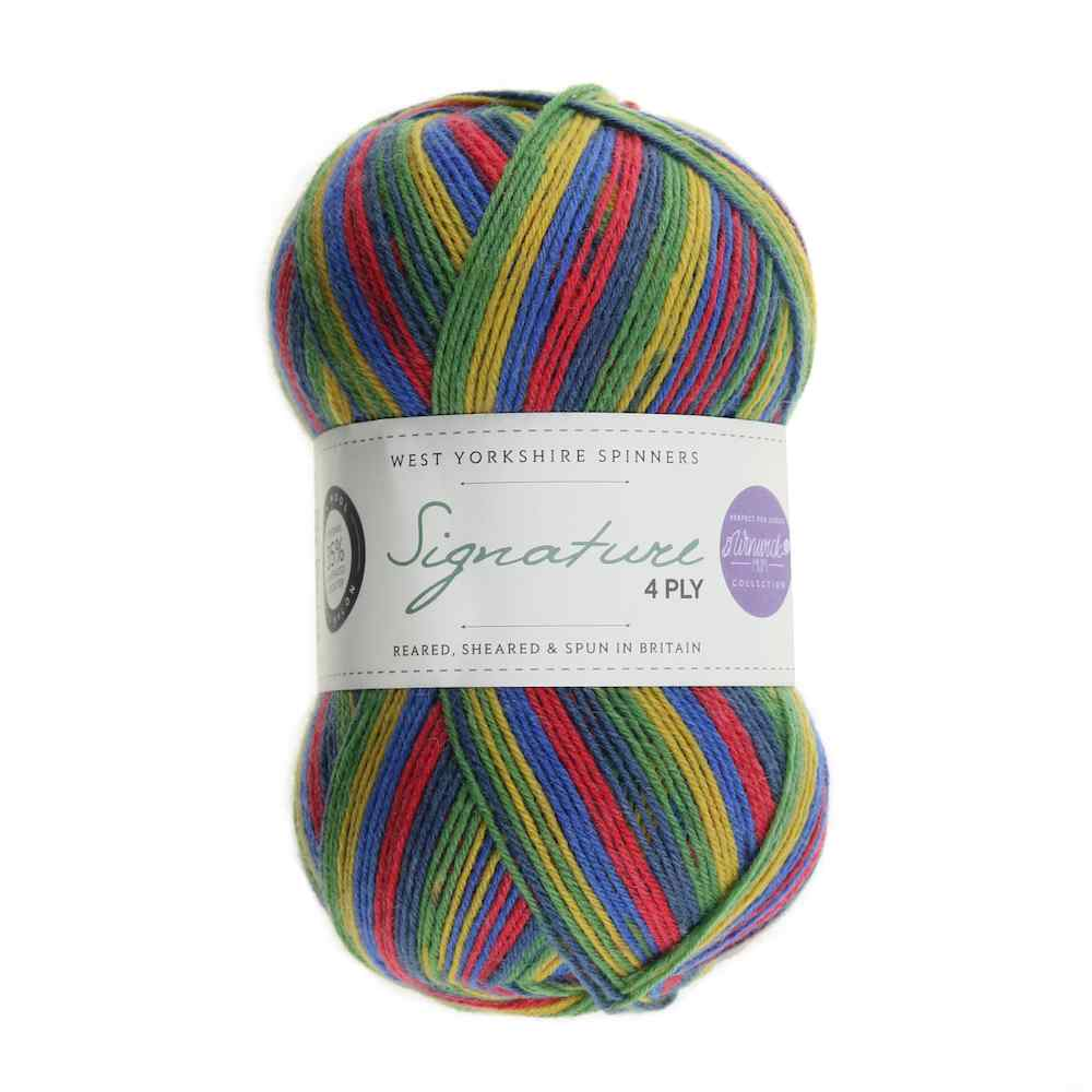 WYS Signature 4ply Winwick Mum 874 Bright Side