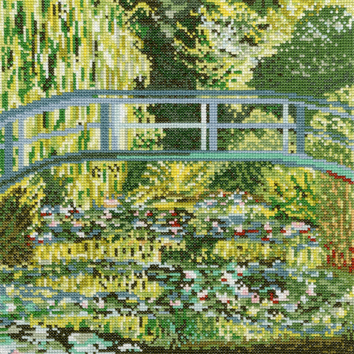 Bothy Threads Japanese Bridge by Monet