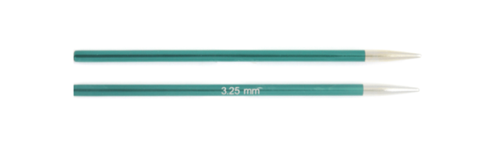 Knit Pro Zing Normal Interchangeable Needles 3.25mm