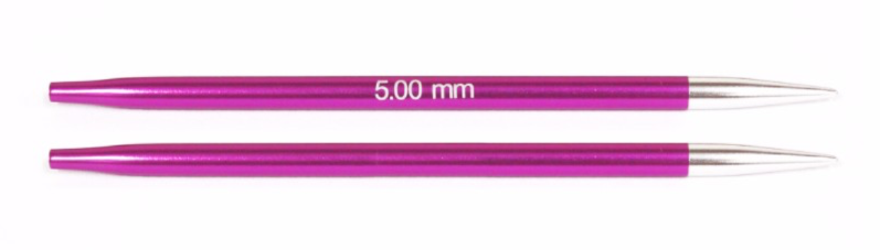 Knit Pro Zing Normal Interchangeable Needles 5.0mm