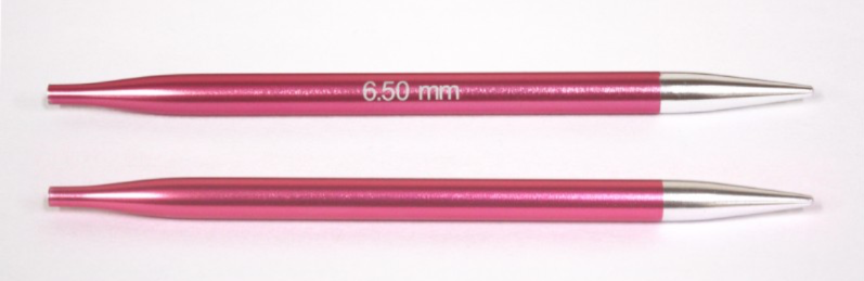 Knit Pro Zing Normal Interchangeable Needles 6.5mm