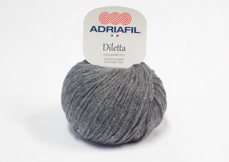 Adriafil Diletta shade no. 27 Ash