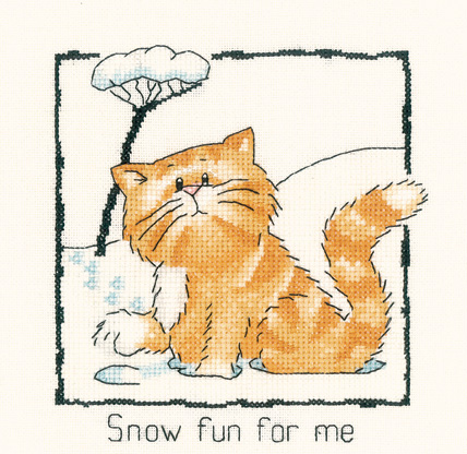 Cats Rule Snow fun for me