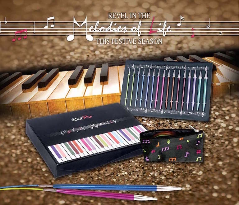 Knit Pro Melodies of Life Zing Interchangeable Needle Set