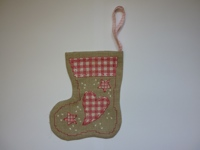 Cinnamon Cat - Vintage Collection: Pink Stocking